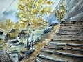 Ralf-Wall-Raflar_watercolour-ink_8x10_Skyrim-7000-steps