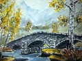 Ralf-Wall-Raflar_watercolour-ink_8x10_Skyrim-Riften-bridge