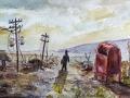 Ralf-Wall-Raflar_watercolour_5x7_apocalyptic-postman