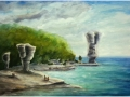 Ralf-Wall-Raflar_watercolour_22x30_Flowerpot-Island-Beach
