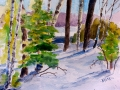 Ralf-Wall-Raflar_watercolour_8x10_Chill-in-the-woods
