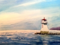 Ralf-Wall-Raflar_watercolour_8x10_South-Hampton-Lighthouse-Spring-Ice