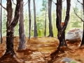 Ralf-Wall-Raflar_watercolour_8x10_red-rock-forest