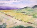 Ralf-Wall-Raflar_watercolour_8x10_Serengeti-Hills