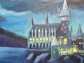 Ralf-Wall-Raflar_acrylic_12x24_Hogwarts-Castle