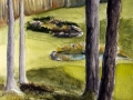 Ralf-Wall-Raflar_watercolour_10x15_grandview-golfcourse-hole-5