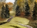 Ralf-Wall-Raflar_watercolour_10x15_grandview-golfcourse-hole-8