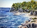 Ralf-Wall-Raflar_watercolour_14x14_Cove-Beach-1