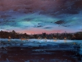 Ralf-Wall-Raflar_acrylic_18x24_Night-over-Conestogo-Lake