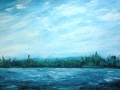 Ralf-Wall-Raflar_acrylic_24x36_windy-afternoon-Lake-Eugenia