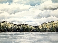 Ralf-Wall-Raflar_watercolour-ink_6x12_Burnt_Island_Lake
