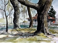 Ralf-Wall-Raflar_watercolour-ink_8x10_Boathouse