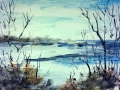 Ralf-Wall-Raflar_watercolour_10x15_perry-sound-in-winter