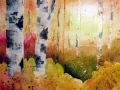 Ralf-Wall-Raflar_watercolour_12x16_Sunset-through-trees