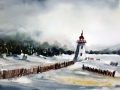 Ralf-Wall-Raflar_watercolour_6x12_Lighthouse-in-winter