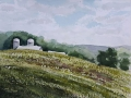 Ralf-Wall-Raflar_watercolour_8x10_Farm-at-three-bridges