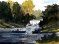 Ralf-Wall-Raflar_watercolour_8x10_fishing-by-the-falls