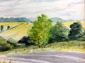 Ralf-Wall-Raflar_watercolour_8x10_on-the-road-to-Londesborough