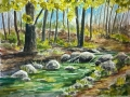 Ralf-Wall-Raflar_watercolour_8x10_spring-stream