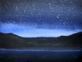 Ralf-Wall-Raflar_watercolour_8x10_star-filled-sky