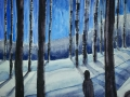Ralf-Wall-Raflar_watercolour_8x10_winter-night-walk