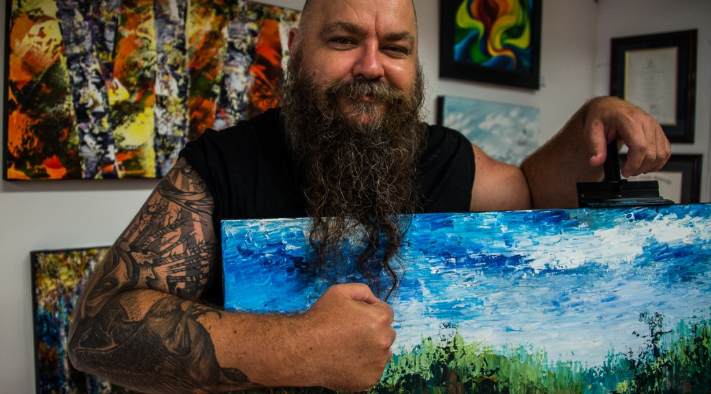 Raflar-with-paintings