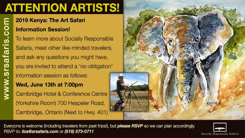 Art Safari to Kenya